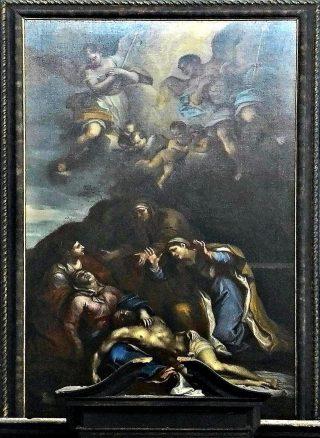 Compianto sul Cristo morto.