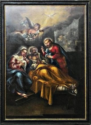 La morte di S. Giuseppe.