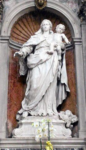 Giovanni Maria Morlaiter, Madonna col Bambino.