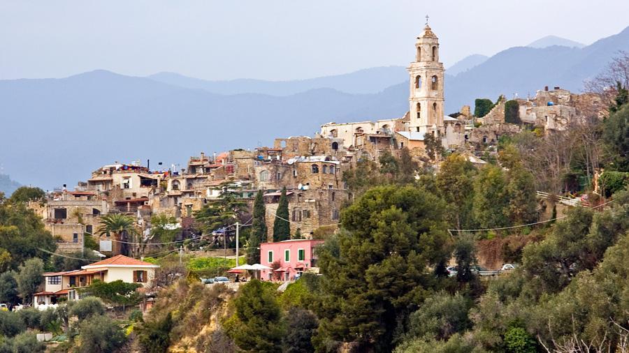 Bussana Vecchia (Sanremo), panorama.