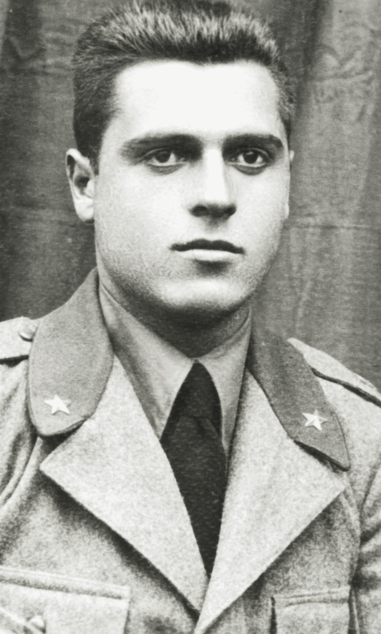 1939, Nanti Paolo al 10° Reggimento Artiglieria.