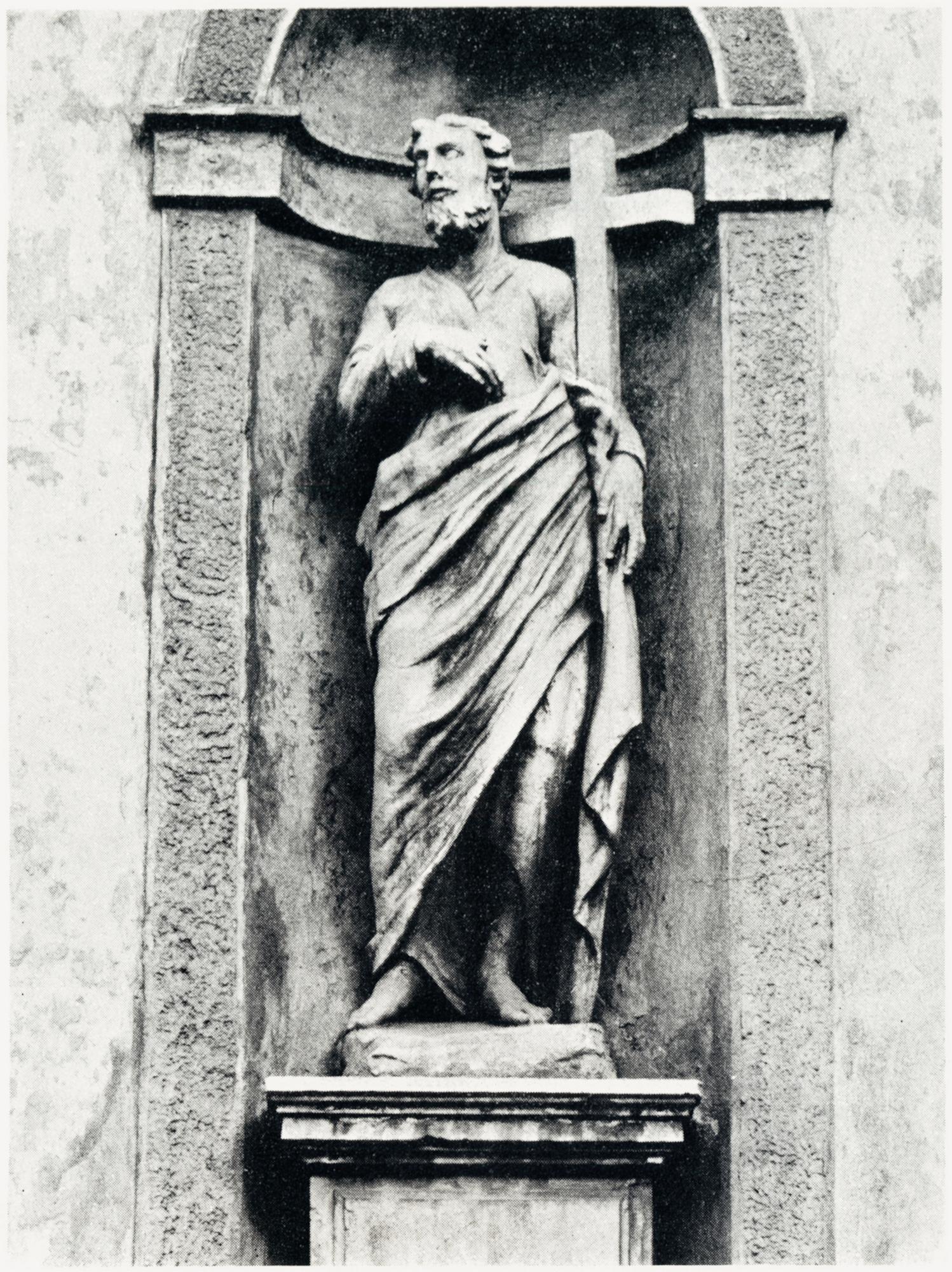 S. Andrea, facciata vecchia chiesa di S. Giacomo, Battaglia Terme.