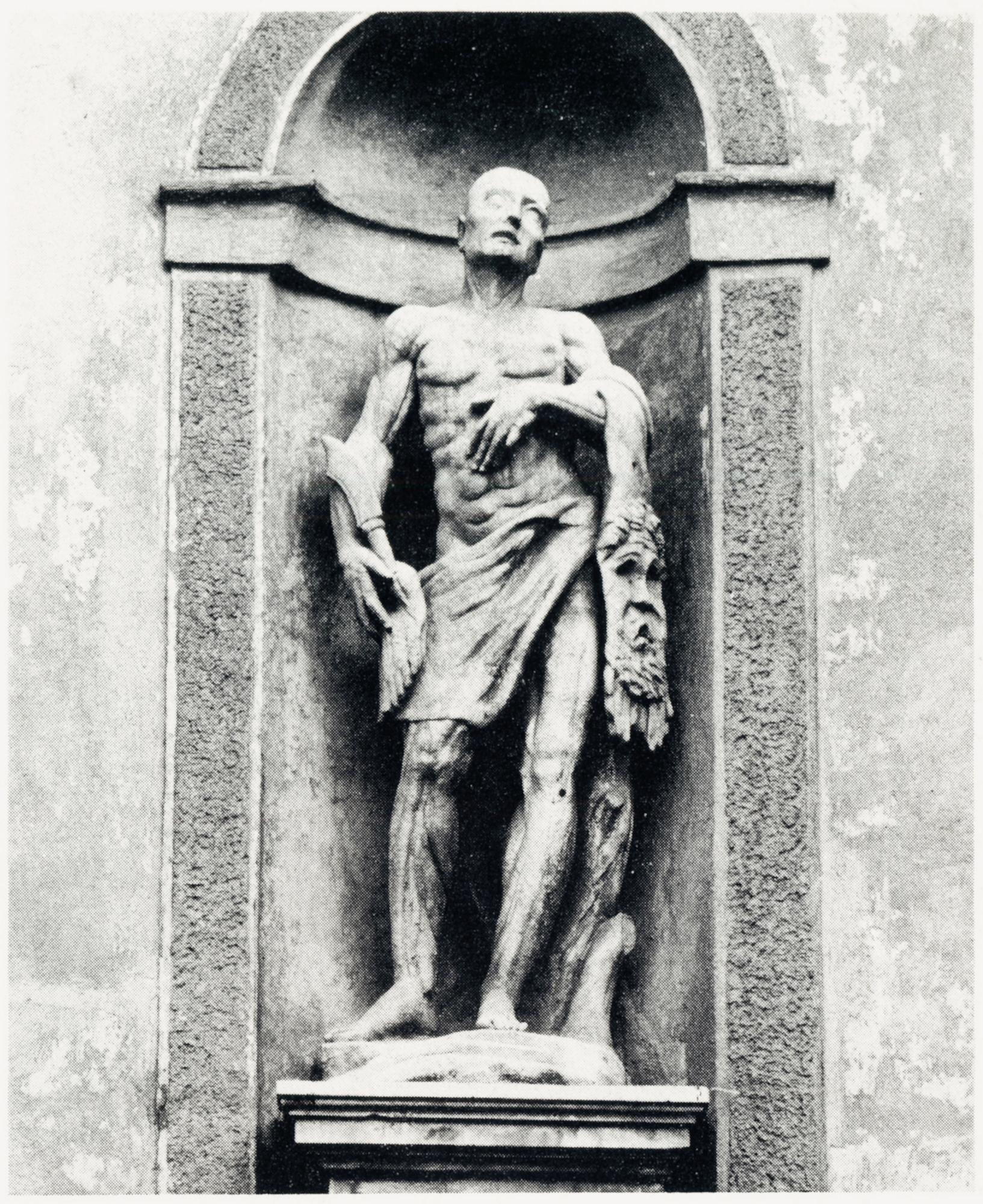 San Bartolomeo, facciata vecchia chiesa di S. Giacomo, Battaglia Terme.