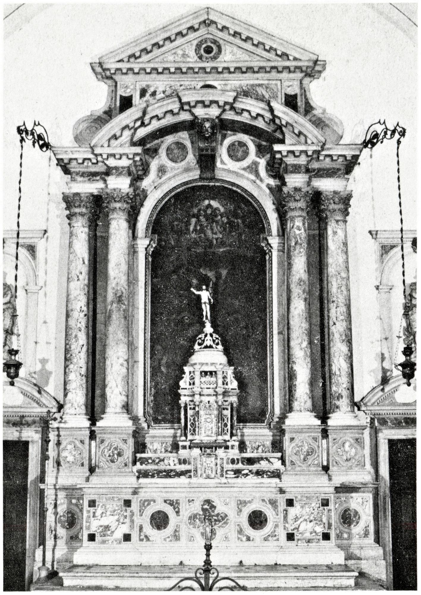 Altare di S. Giacomo apostolo, vecchia chiesa di San Giacomo, Battaglia Terme.