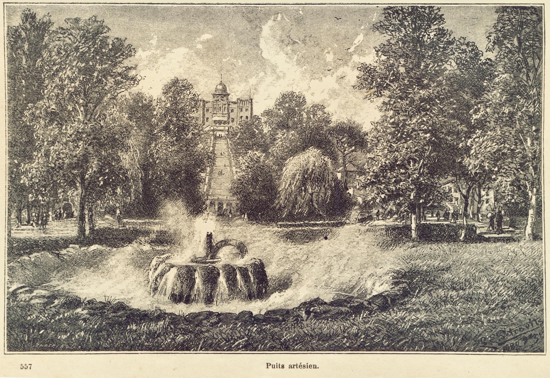 Terme di Battaglia, fontana da cui sgorga l'acqua termale.