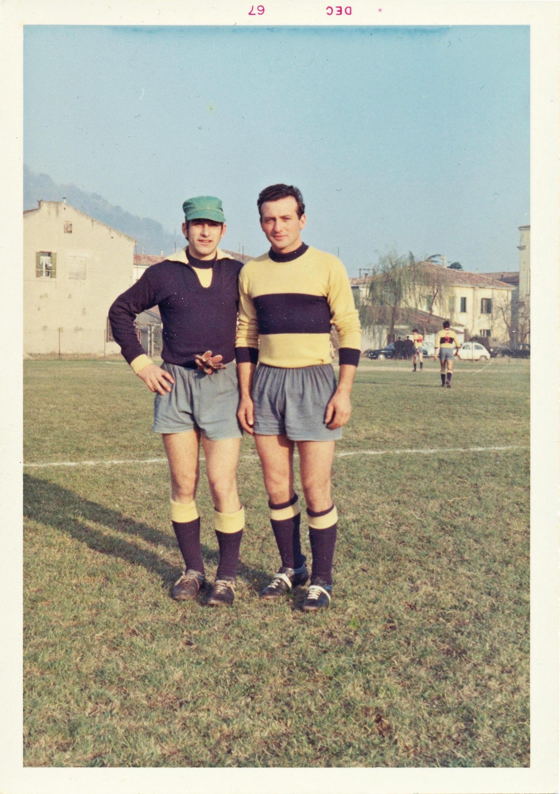 3 dic 1967, Ceccato e Zorzan.