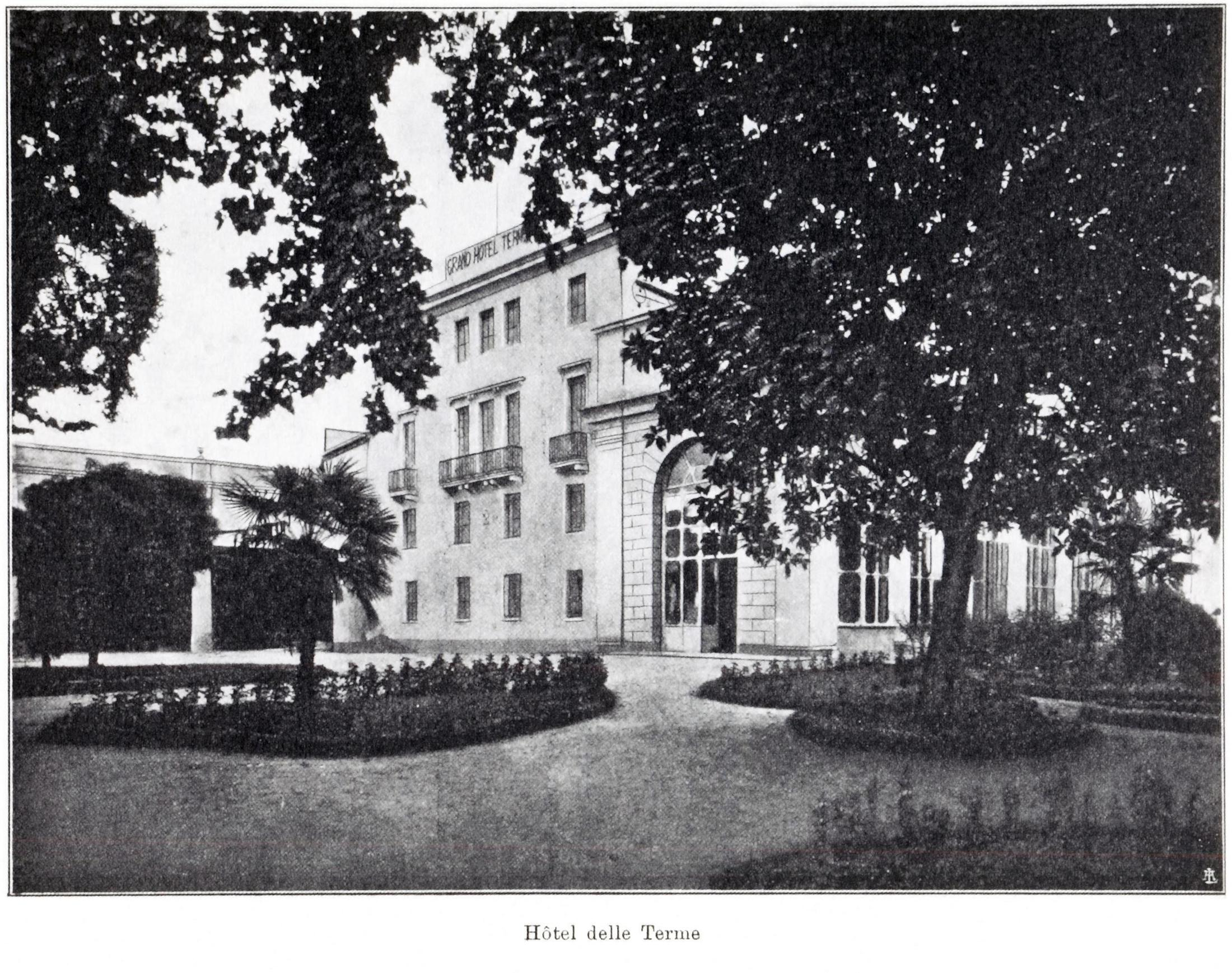 Battaglia, l'Hotel delle Terme.