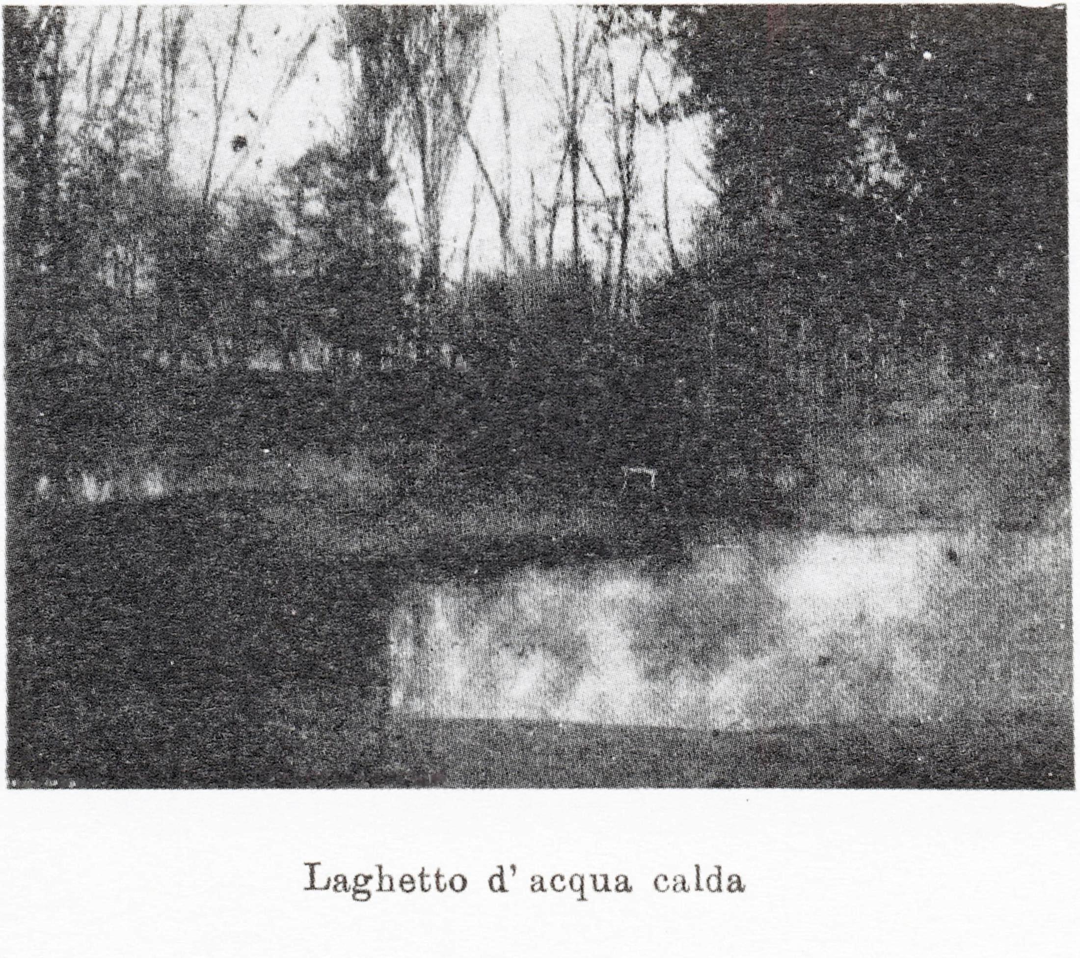 Terme di Battaglia, laghetto d'acqua calda.
