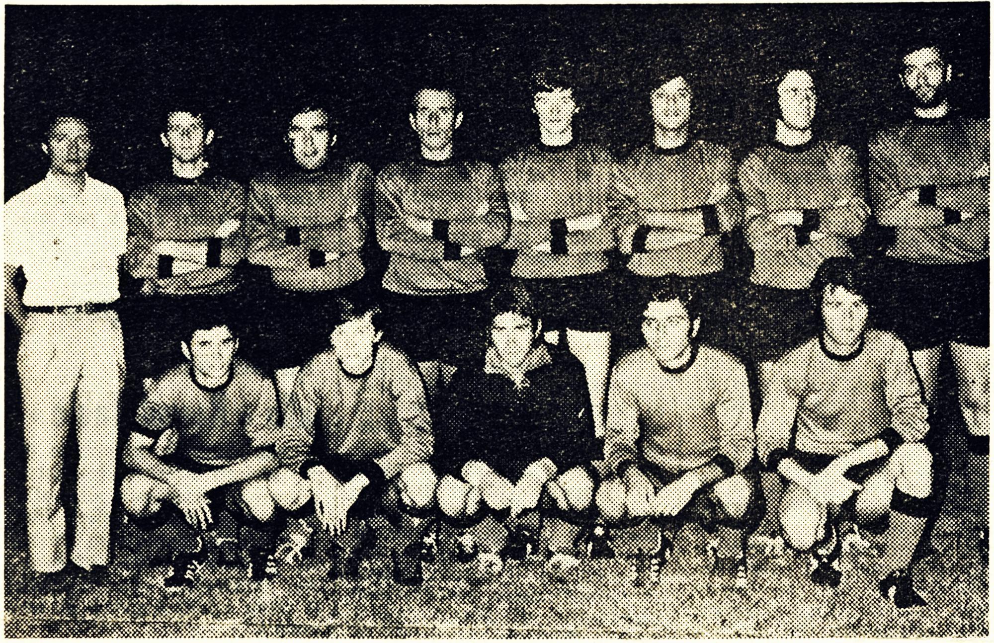 1971/72, la formazione del Galileo Battaglia che si appresta a iniziare il nuovo campionato.