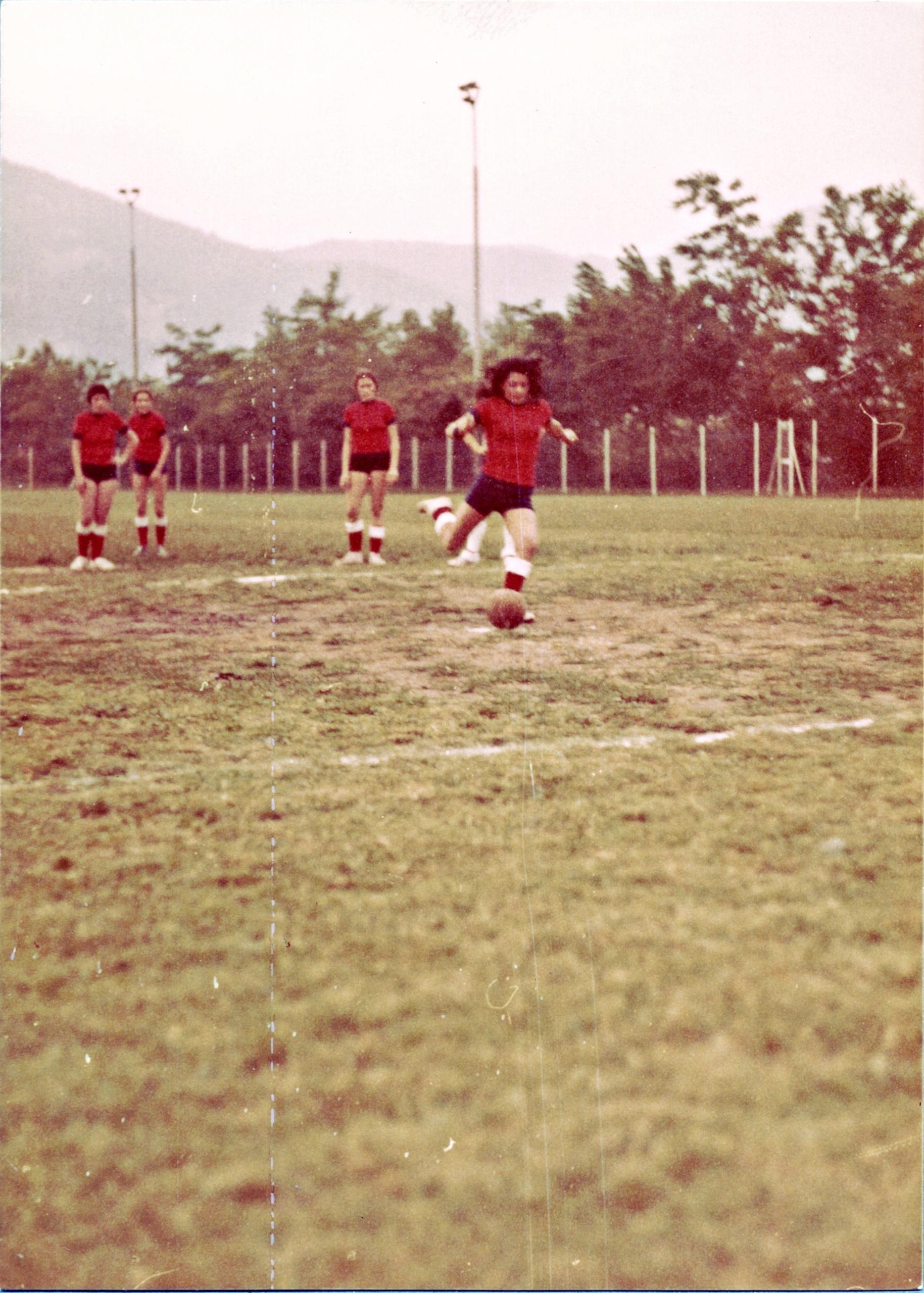 6 giugno 1973, il rigore di Paola Piva.