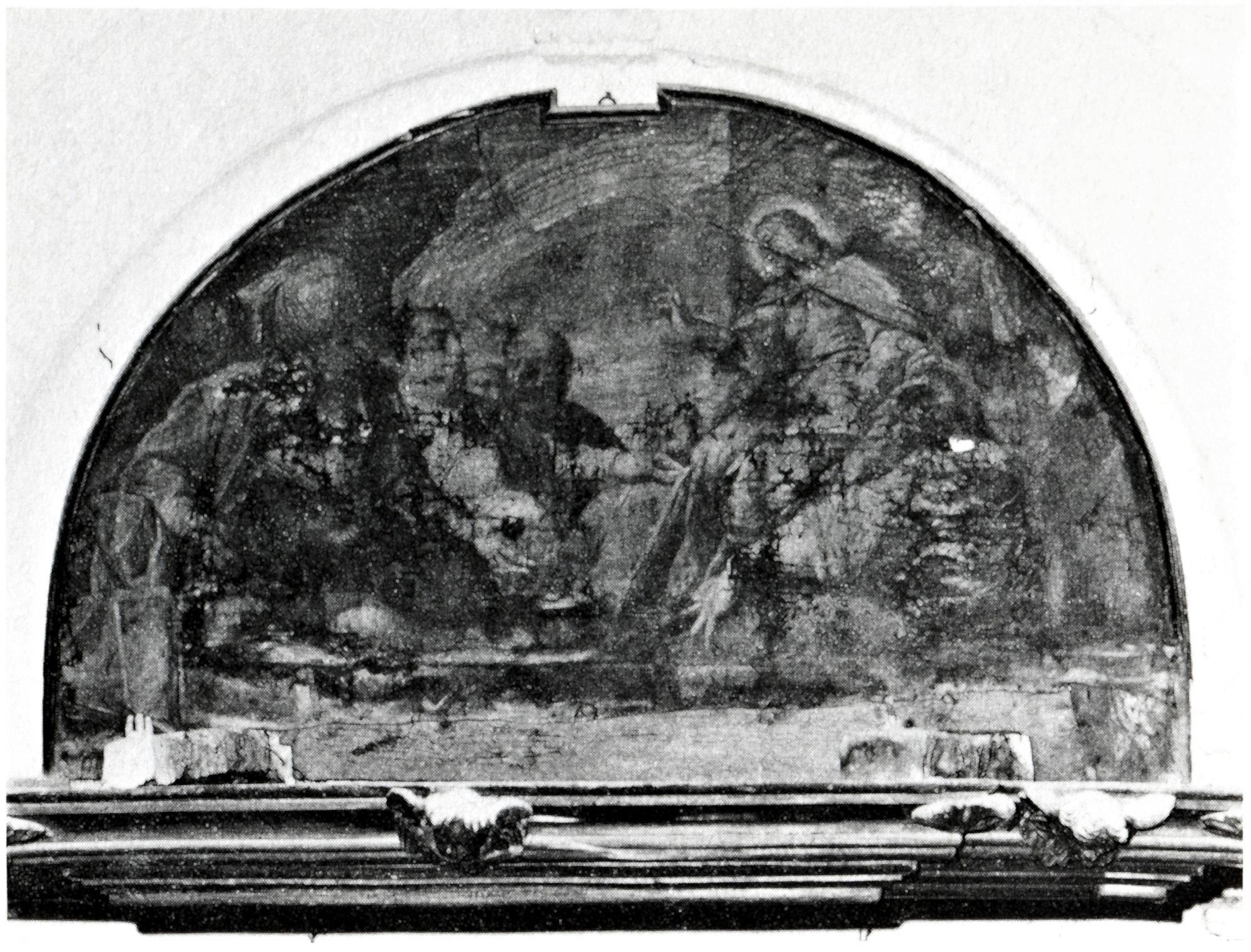 Gesù e i dottori nel tempio, vecchia chiesa di S. Giacomo, Battaglia Terme.