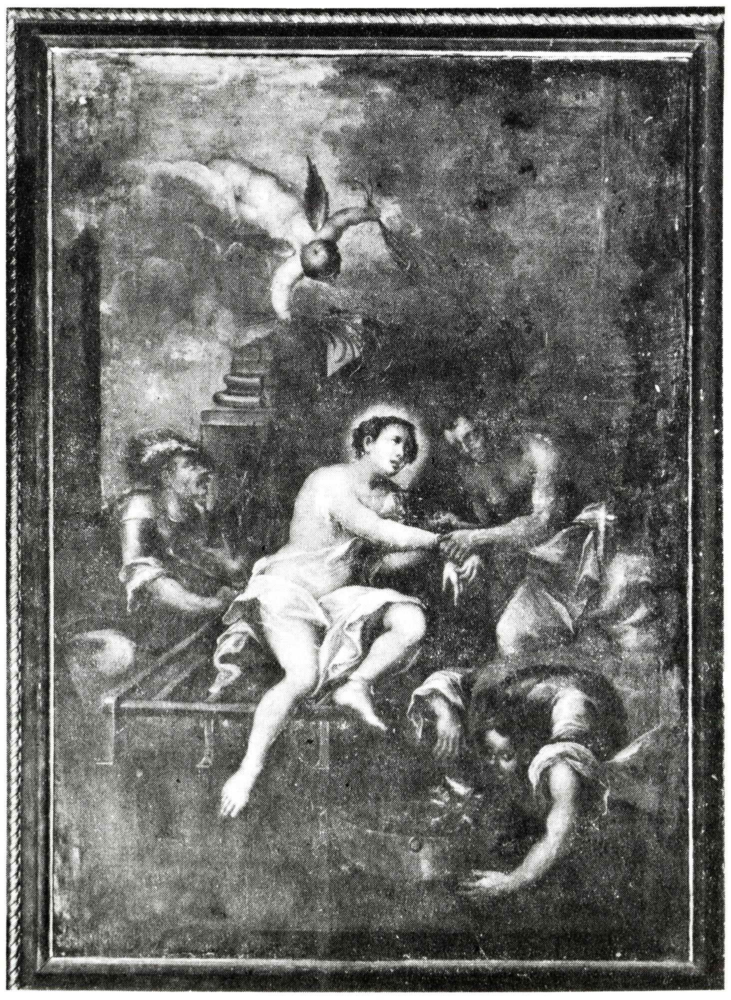 Il martirio di S. Lorenzo, vecchia chiesa di S. Giacomo, Battaglia Terme.