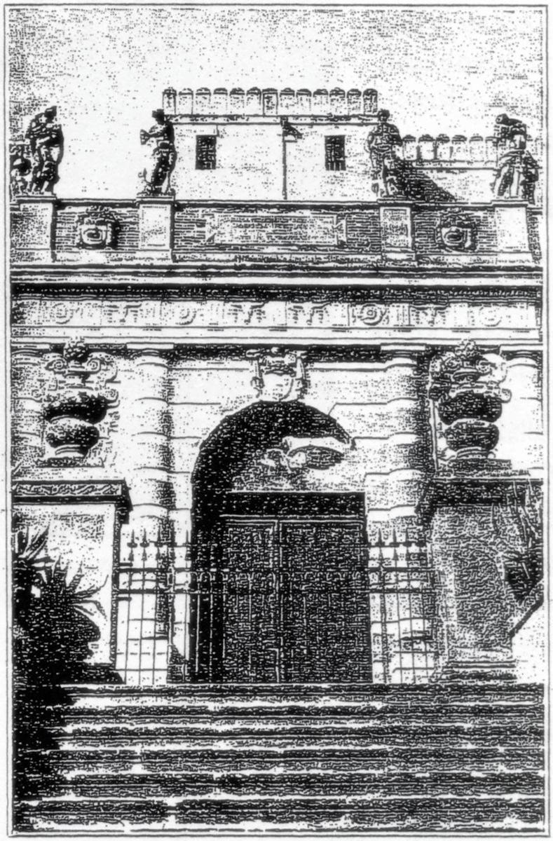 Ingresso principale del Castello del Catajo, Battaglia Terme.