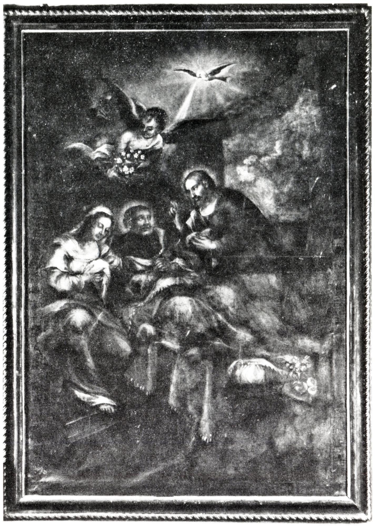 La morte di S. Giuseppe, vecchia chiesa di S. Giacomo, Battaglia Terme.