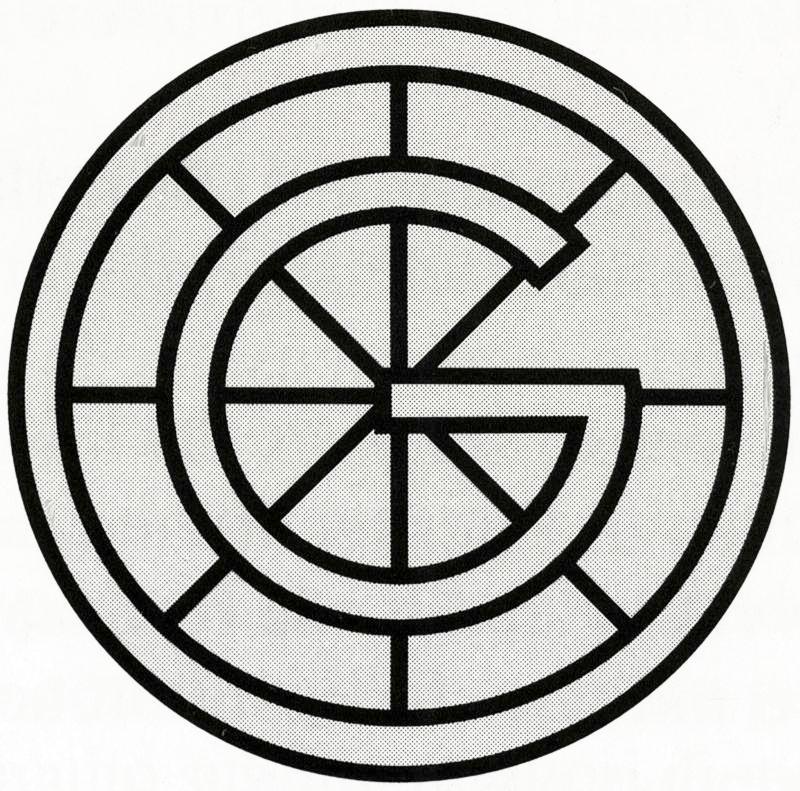 Logo delle Officine Galileo di Firenze, stabilimento di Battaglia Terme (Padova).