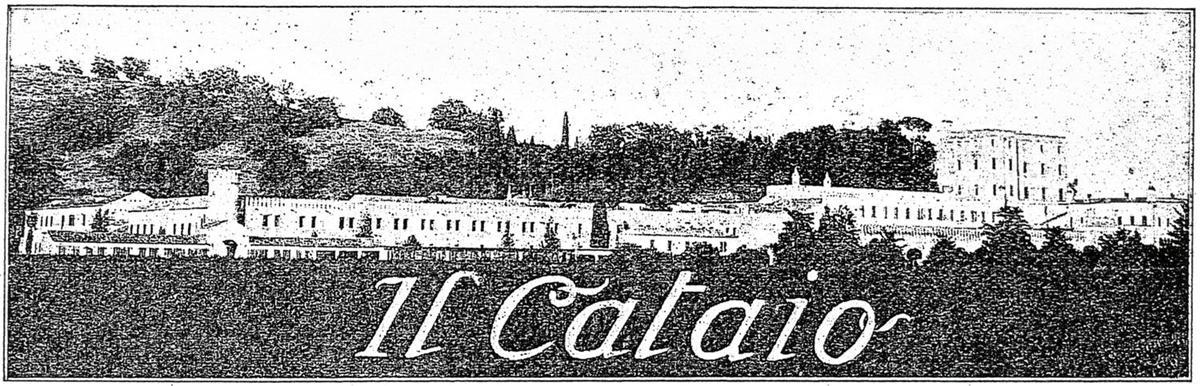 L'azienda agraria del Cataio, testata.