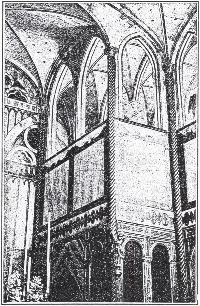 Interno dell'oratorio del Cataio intitolato a S. Michele Arcangelo.