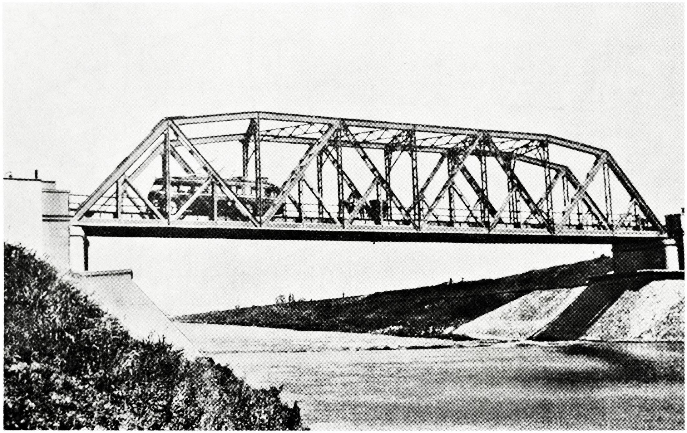 Ponte stradale di Salboro sul Bacchiglione.