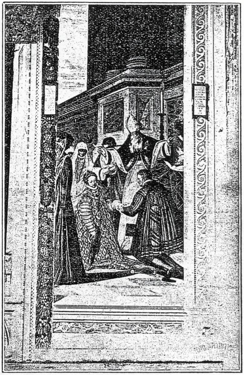 G.B. Zelotti, Lo sposalizio di Roberto degli Obizzi con Negra de' Negri, Castello del Catajo, Battaglia Terme.