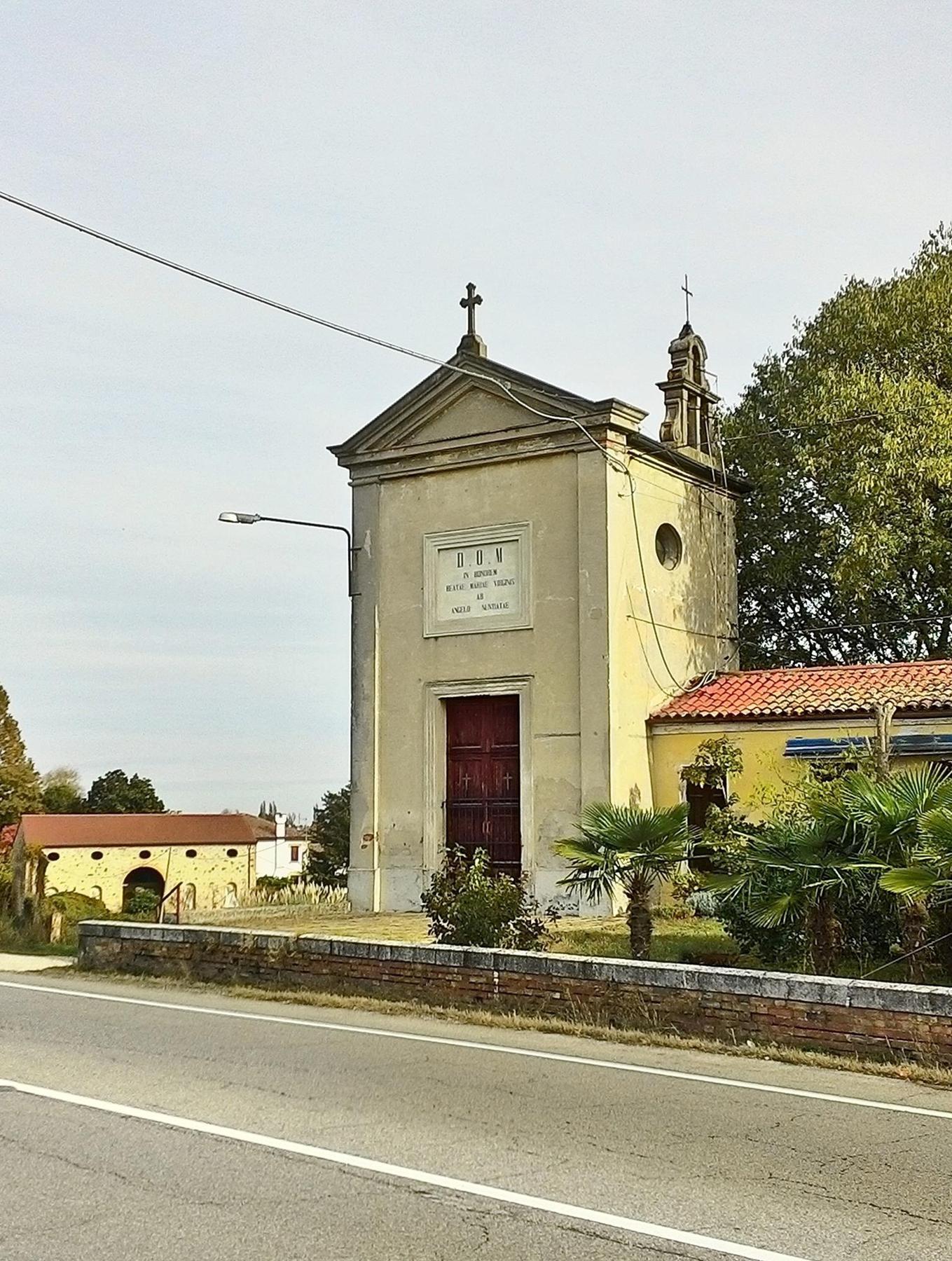 Chiesetta di S Maria del Pigozzo, Due Carrare.