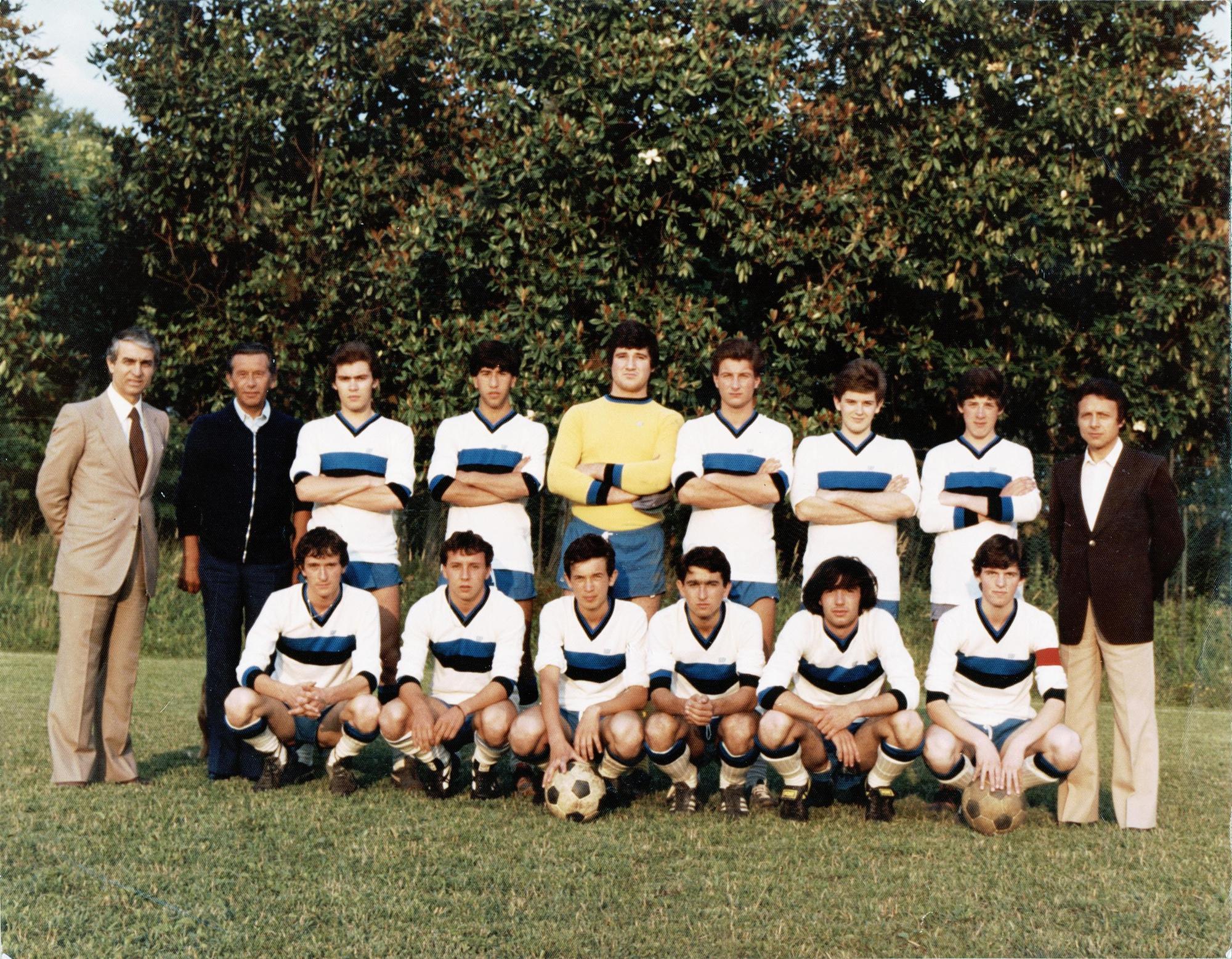 1978/79, U.S. Condor squadra Juniores.
